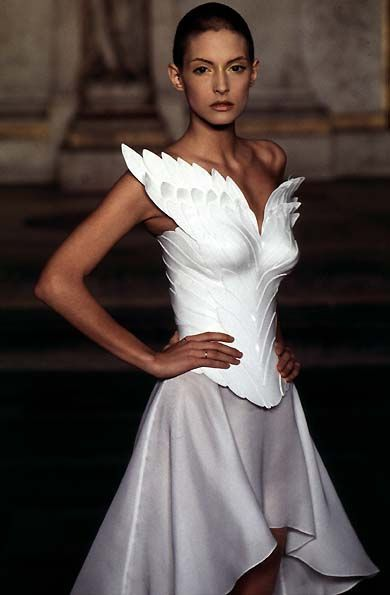 Givenchy Haute Couture SS97 by Alexander McQueen - Long Live McQueen #alexandermcqueendress