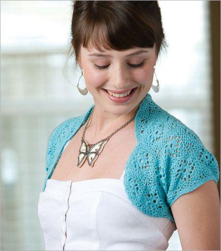 BOLERO CROCHET FREE GIRL PATTERN - Crochet ? Learn How to ...