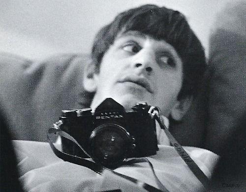 Ringo Starr and a Asahi Pentax S3
