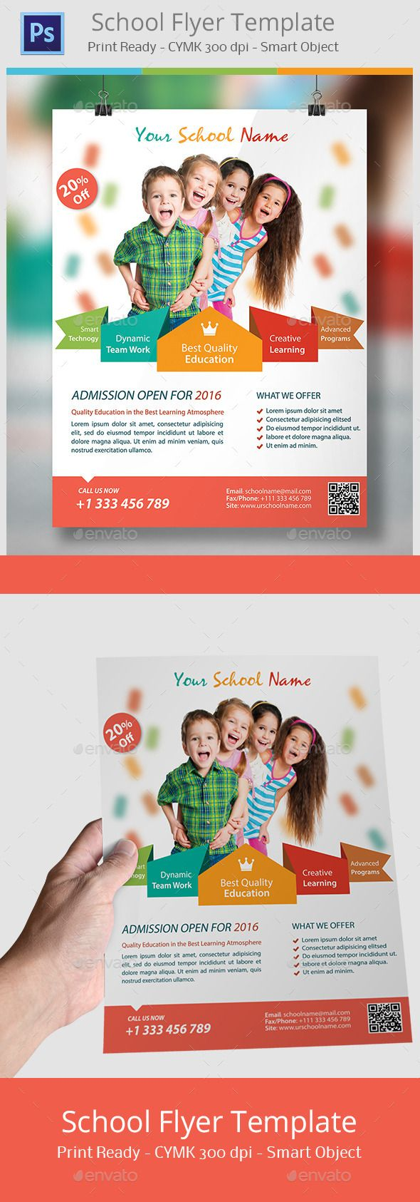 Best Kids Flyer  Print Template  Psd Images On