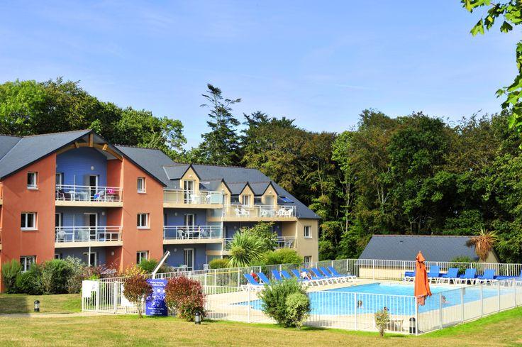 La résidence du Golf de Carantec. Appartements de 4 à 8 personnes au cœur de la Bretagne !