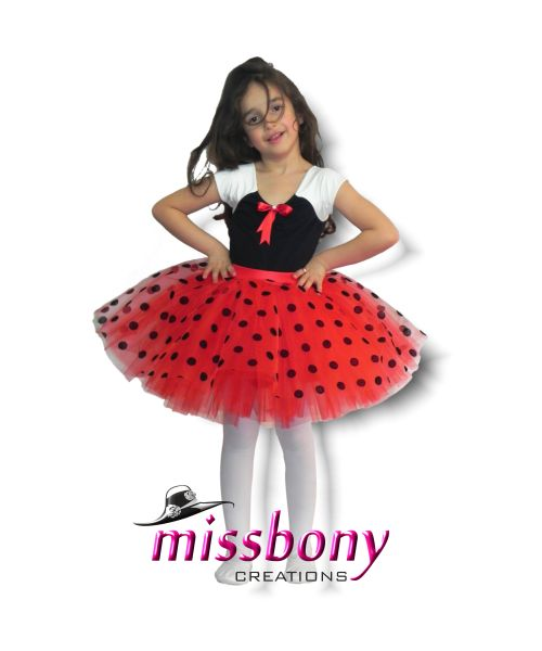 23 Nisan Tütü Etekli Kız kıyafeti Tina Dotty