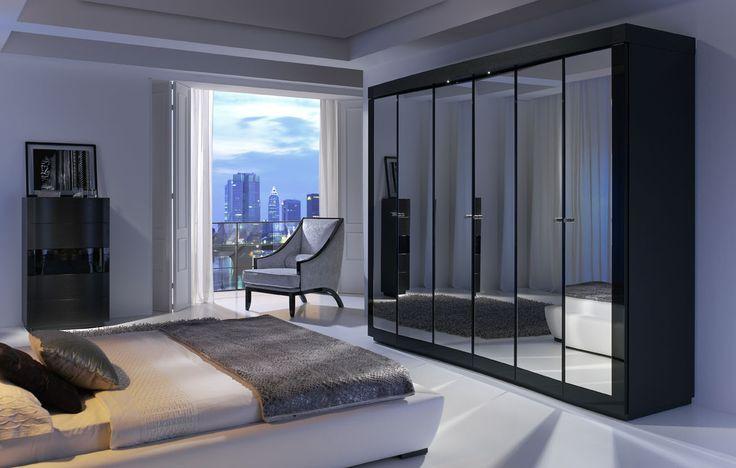 Um enorme roupeiro não tem de estragar o ambiente do teu quarto. Antes pelo contrário ;) #Quarto #Roupeiro