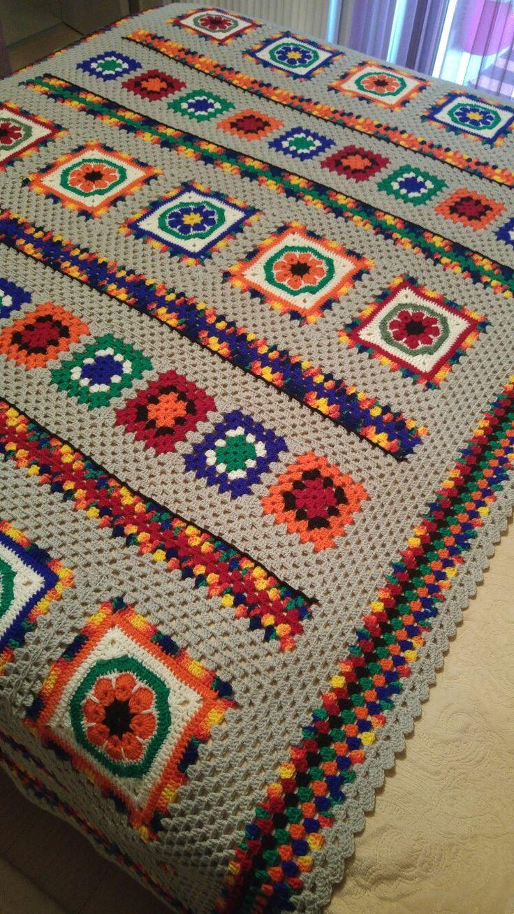 Crochet#motif#battaniye