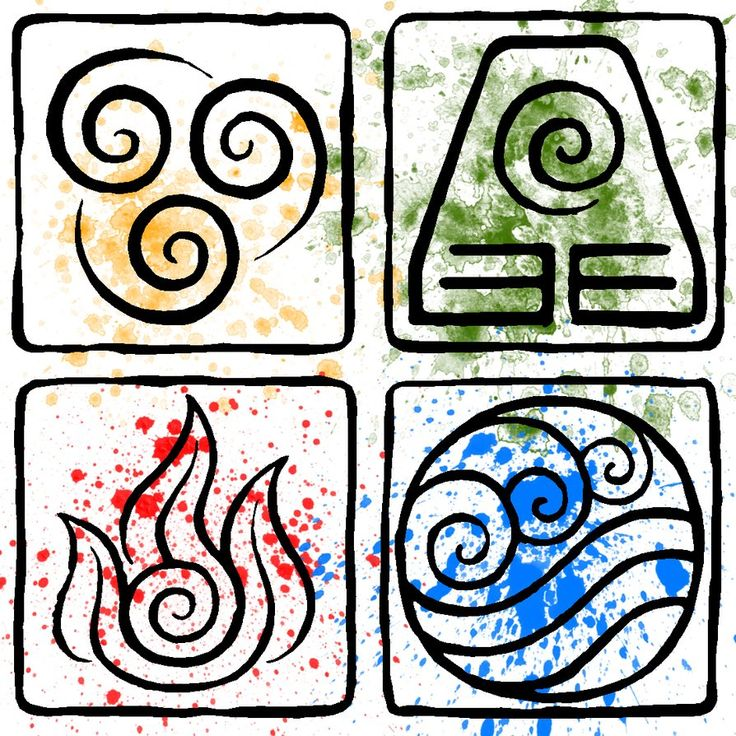 earth element symbols | ATLA Element Symbols by ...