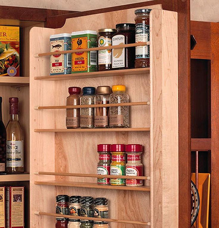 Spruce Up Your Kitchen With These Cabinet Door Styles: Best 25+ Kitchen Spice Storage Ideas On Pinterest