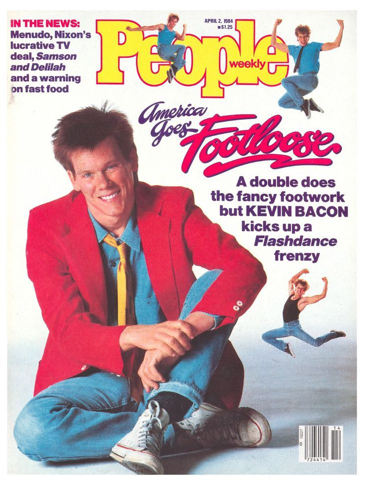 Kevin Bacon and Footloose on the cover of People - April 2, 1984 ...
