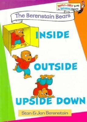 Inside Outside Upside Down Bright Early BooksR By Stan Berenstain And Jan