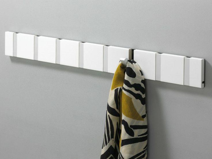 KNAX hook in Whit by LoCa DK - The most sold coat rack in color - KNAX knagerække i Hvid - 2, 4, 6 eller 8 knager.