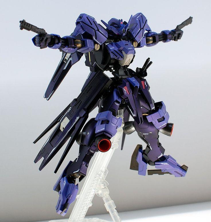 GUNDAM GUY: 1/100 Full Mechanic Gundam Vidar - Customized Build w/ LED