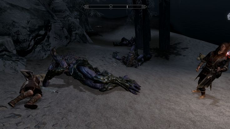 For some reason the sun stone spawns three lurkers. #games #Skyrim #elderscrolls #BE3 #gaming #videogames #Concours #NGC