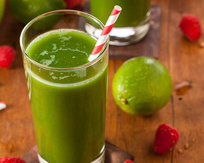 Ginger-Lime-Smoothie