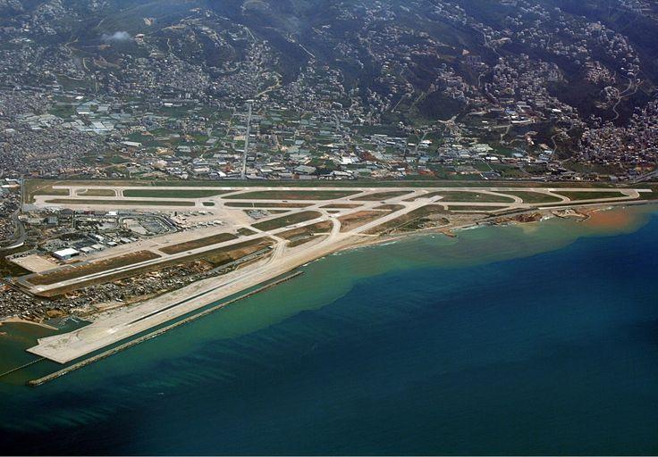 * Beirut International Airport *  Beirute, Líbano.