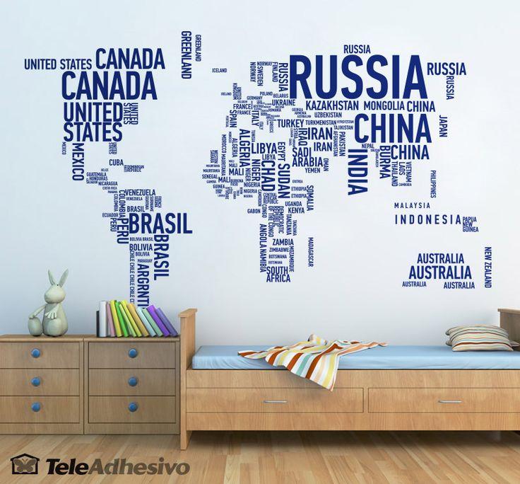 Mejores 56 imágenes de maps en Pinterest | Mapas del mundo ...