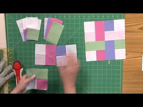 How to Make the Woven Scrappy Strips Quilt - YouTube
