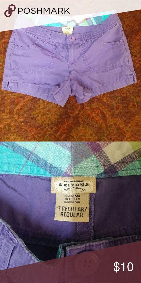 CUTE girls purple Arizona Jeans Co. Shorts size 7 CUTE girls purple Arizona Jeans Co. Shorts size 7 Arizona Jean Company Bottoms Shorts
