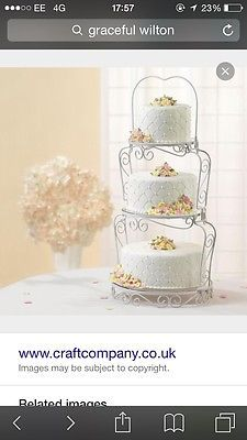 Wilton graceful Wedding Cake Stand