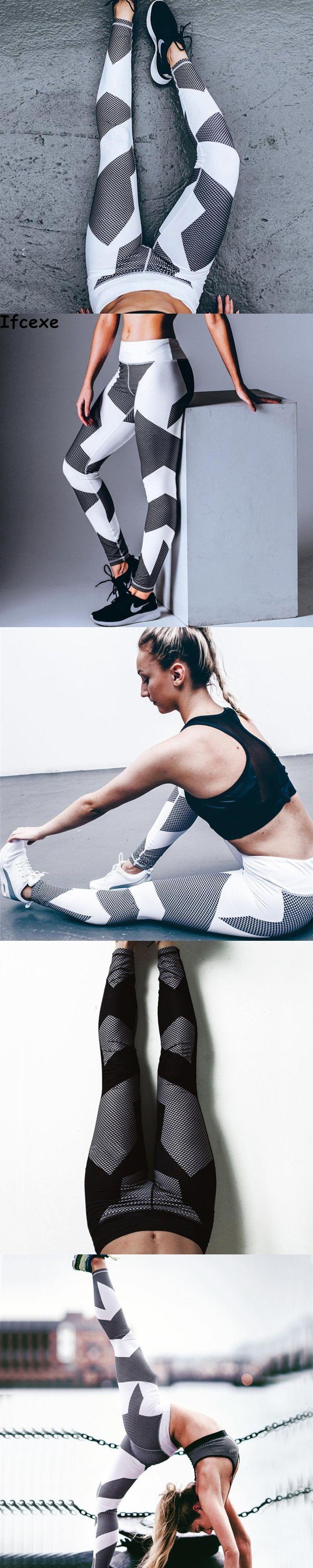 2017 new Pants Women Leggins Sport High Waist Hollow Women Fitness Pant Woman Sportswear Gym Leggings Sport Tights Women