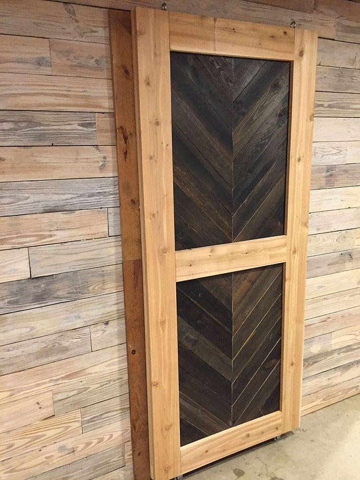 Sliding Doors Using Pallets Sliding Doors Doors And Posts