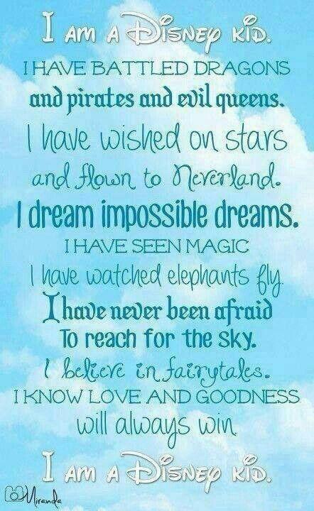 Disney poem