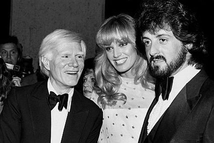 | Archive: Andy Wharol, Sylvester Stallone and Susan Anton