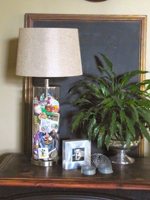 memory jar lamps great idea for all those knick knacks youu0027ve saved - Fillable Lamp