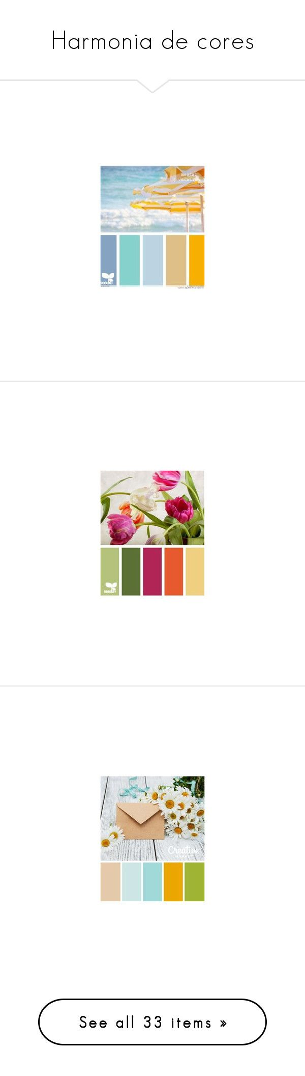"""""""Harmonia de cores"""" by another-woman ❤ liked on Polyvore featuring design seeds, backgrounds, color palettes, color schemes, colors, filler, seeds, palette, effect and color"""