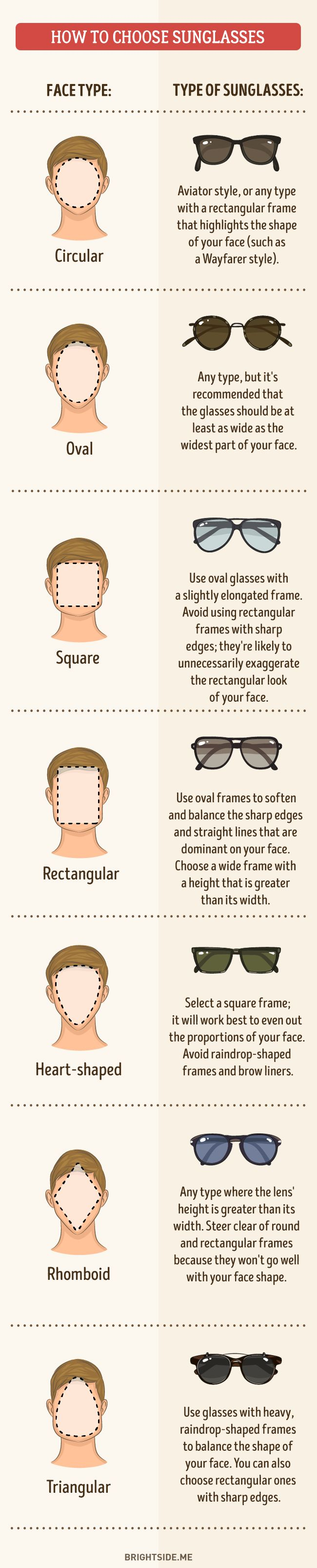 How to choose sunglasses