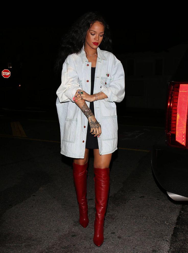 Rihanna Giorgio Baldi April 22 2014
