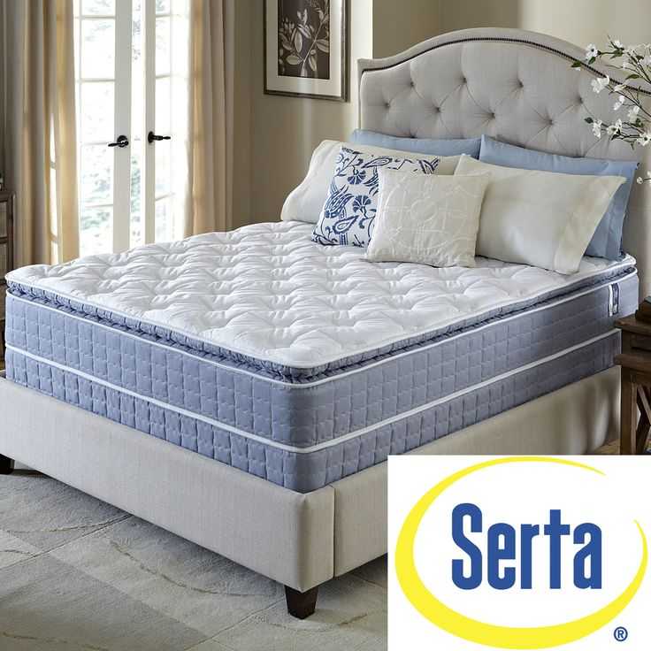 serta revival pillowtop fullsize mattress and foundation set shopping