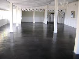 Black painted concrete floor google search sharon - Painting interior concrete walls ...