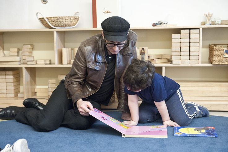 The value of informal Parent-Child Reading Time is appreciated and nurtured at Chicago's Bennett Day School (Via Private School Review)