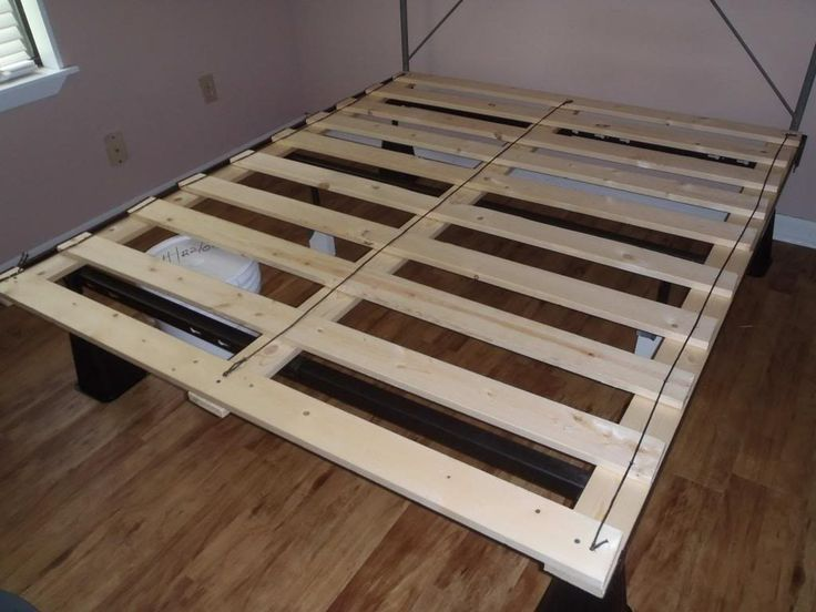 Best 20 box bed frame ideas on pinterest for Bed without frame ideas