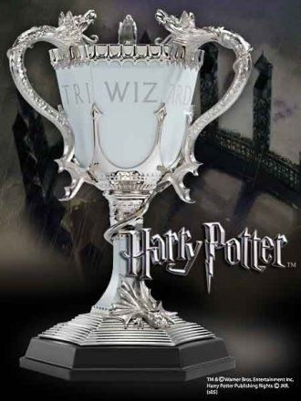 Triwizard Cup Cup Prop Replica from Harry Potter and The Goblet Of Fire  -- replica movie prop -- (by Noble Collection)   # 4