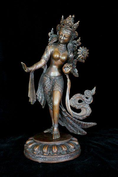 Dancing Tara Tara is a female Buddha and one of the most prominent female…