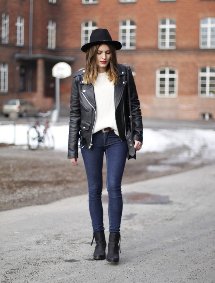 outfit: leather jacket and acne pistol boots. – Hoard of Trends – Fashion Blog from Berlin / Mode Blog aus Berlin