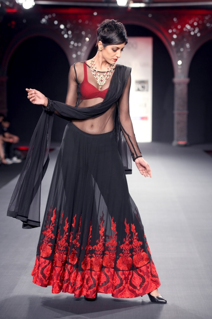 Varun Bahl's Indian wedding line is transparent