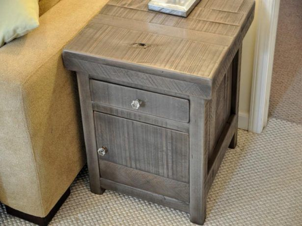 tables storage rustic sterling ideas side with drawers for kitchen