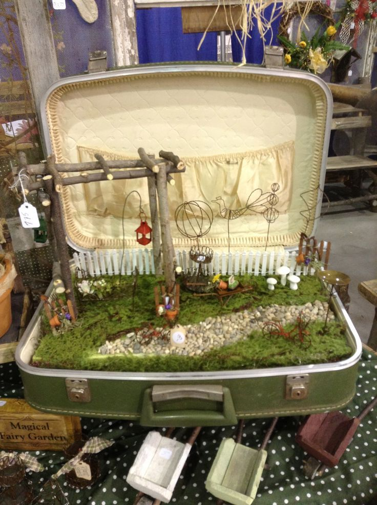 fairy house necklace display - Google Search
