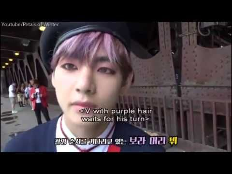 [ENG SUB] JHOPE wearing contact lenses hardly   BT