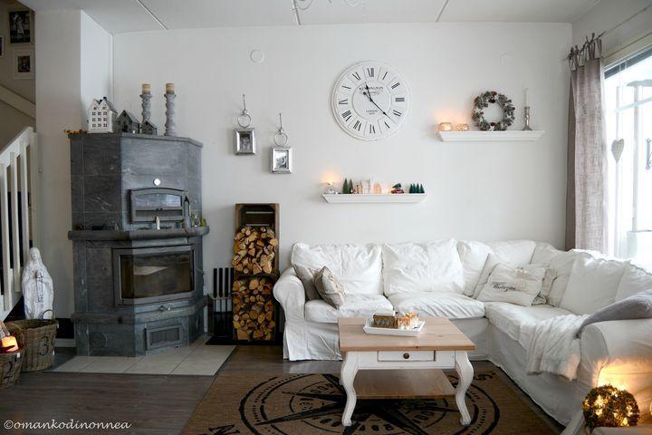 Our living room now ❤ Riviera maison ❤ whitehome ❤ http://starbox.fi/omankodinonnea/alakerran-uusi-ilme