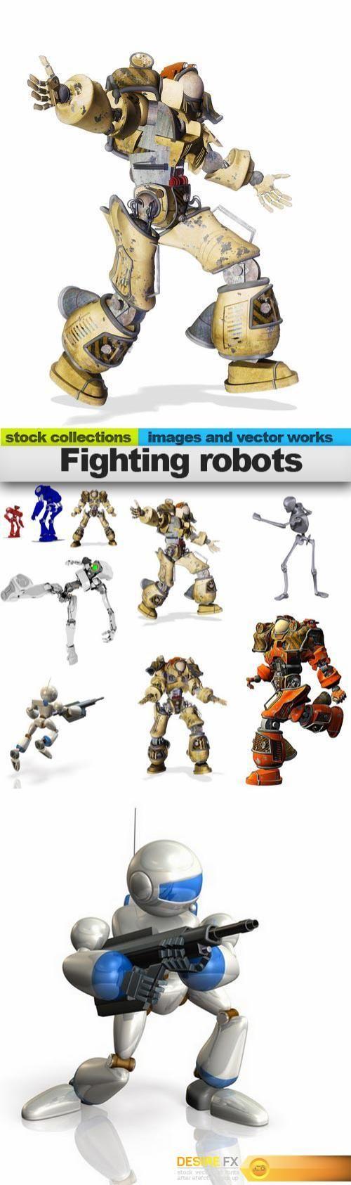 Fighting robots, 09 x UHQ JPEG  http://www.desirefx.me/fighting-robots-09-x-uhq-jpeg/