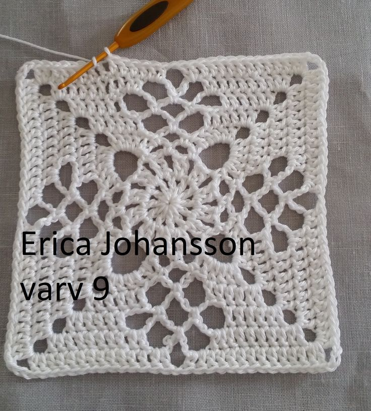 Victorian lattice square – SVENSKA av Erica Johansson /150710…