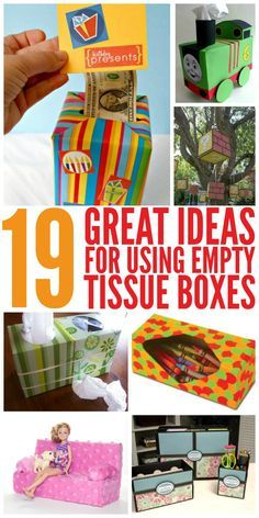 With winter just around the corner, you may find yourself with more empty tissue boxes than you know what to do with. These DIY tips and ideas turn those useless kleenex boxes into practical, and adorable works of art.