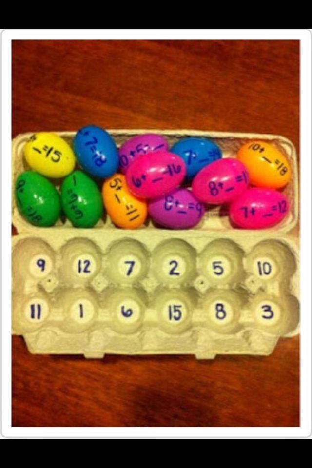 Easter inspired maths!