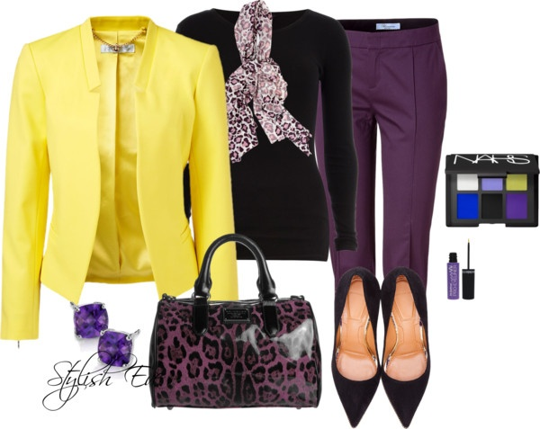 Top 25 Ideas About Outfits - Purple On Pinterest | Green ...