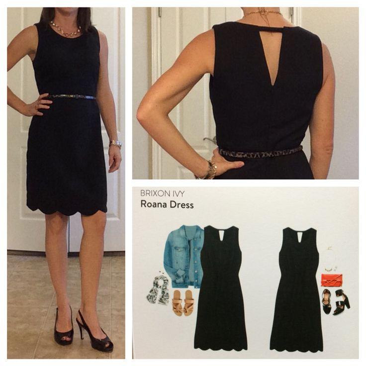 Stitch Fix Brixon Ivy Roana Dress #Fix2  The perfect little black dress! #LBD