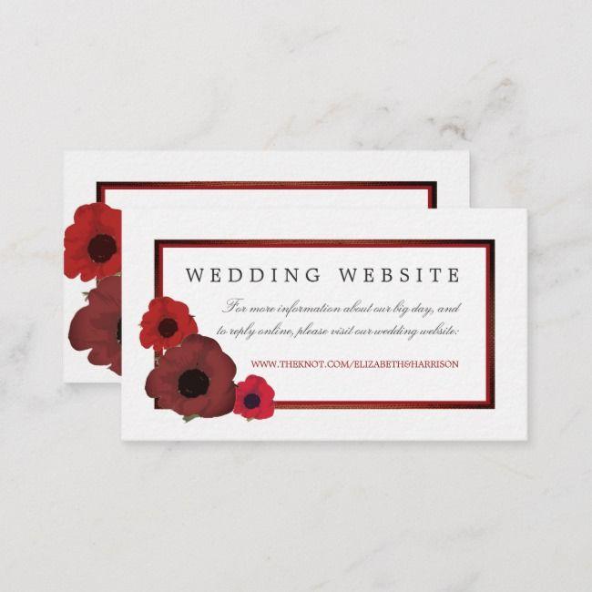 Create Your Own Enclosure Card Zazzle Com Wedding Website Wedding Website Card Burlap Wedding