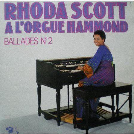 zoom rhoda scott -  A l'orgue Hammond - Ballads n 2 - 33T