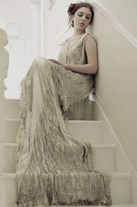 1920 vintage lace wedding dress